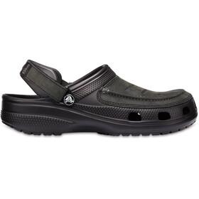 Crocs Yukon Vista Clogsit Miehet, black/black